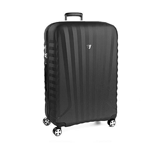 Roncato Extra Grosser Spinner (XL) Hartschalen UNO Zsl Premium 2.0 - cm. 86 x 57.5 x 33 Fassungsvermögen 150 L Leicht Organisierter Innenraum TSA-Schloss 10 Jahre Garantie