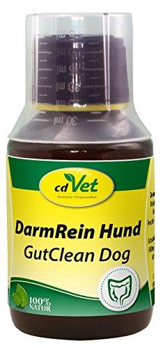 cdVet Naturprodukte DarmRein Hund 100 ml - Hund - Ergänzungsfuttermittel - Unterstützung der Futteraufnahme + der natürlichen Darmflora - Verdauungsstörungen - Durchfall - Brechreiz - Darmprobleme -