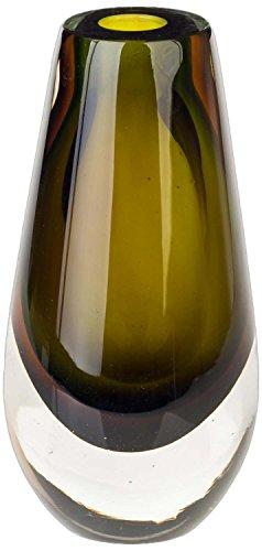 Glasvase Vase Glas im Murano Antik-Stil - 22cm