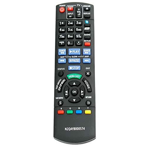 AIDITIYMI N2QAYB000574 New IR Remote for Panasonic Blu-ray Disc Player DMP-BDT310 DMP-BDT215 DMP-BDT210 DMP-BDT110 Remote