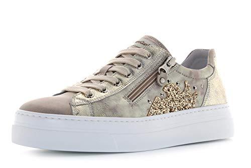 Nero Giardini 0660D Sneakers con Lacci in Pelle Donna