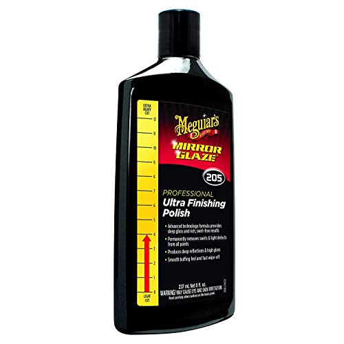Meguiar's M20508 Mirror Glaze Ultra Finishing Polish, 8 oz