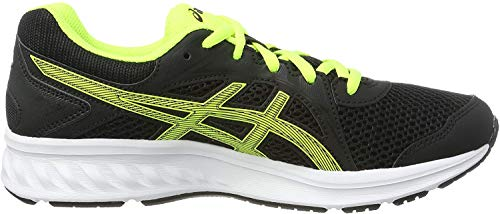 Asics Jolt 2 GS, Zapatillas de Running Unisex Niños, Negro (Black/Safety Yellow...