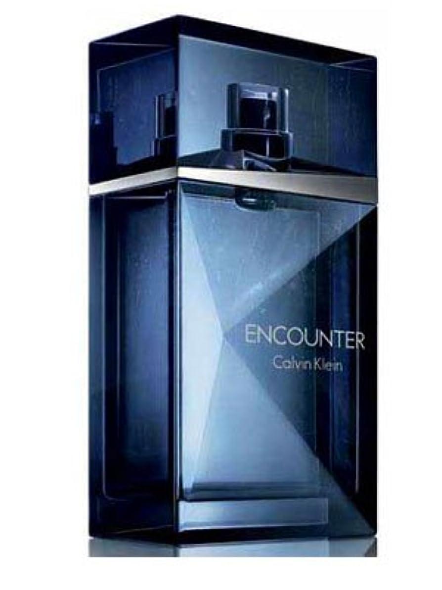 家具思想チェスをするEncounter (エンカウンター)3.4 oz (100ml) EDT Spray by Calvin Klein for Men