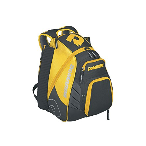 DeMarini WTD9105LG Voodoo Rebirth Backpack, Yellow