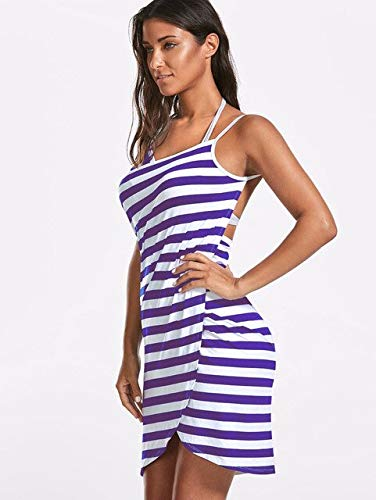 Heliansheng Toalla de Mujer Bata de baño Vestido de Toalla usable para Mujer Pijamas de Playa de Secado rápido -3-L