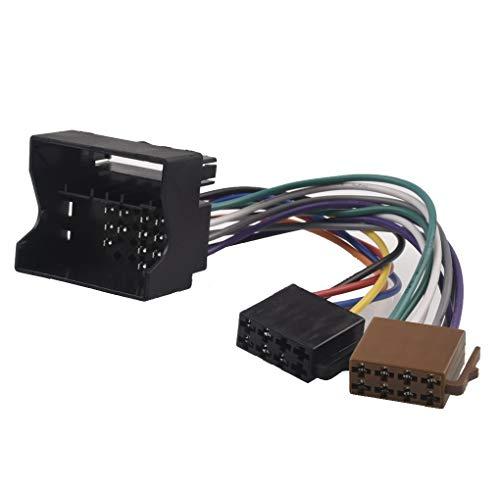 NLLeZ 1 PZ Autoradio Adattatore ISO Adattatore Cavo per BMW Mini Cooper E81 E82 E87 E88 E65 E66 E67