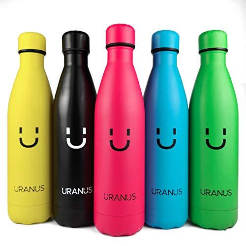 Uranus Bottles ADOTTA Un Koala – Bottiglia Termica 750ml Acciaio Inox – Sport, Ufficio, Uso Quotidiano – Mantiene Acqua e Bevande Fresche o Calde – Bottiglia Ecologica – 100% Sicura