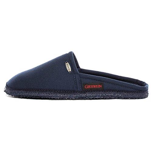 GIESSWEIN Hausschuhe Villach - Leichte Pantoffeln für Damen & Herren, Atmungsaktive Pantoletten aus Baumwolle, Leichte Sommer-Schuhe für Zuhause