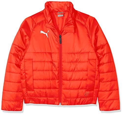 PUMA Kinder Liga Casuals Padded Jacket Jr Jacke, Red, 152