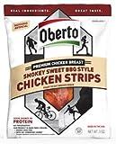 Oberto Smokey Sweet BBQ Style Chicken Strips 3 oz pack of 4