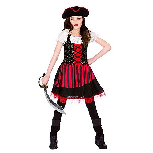 Pretty Pirate Girl - Kids Costume 5 - 7 years