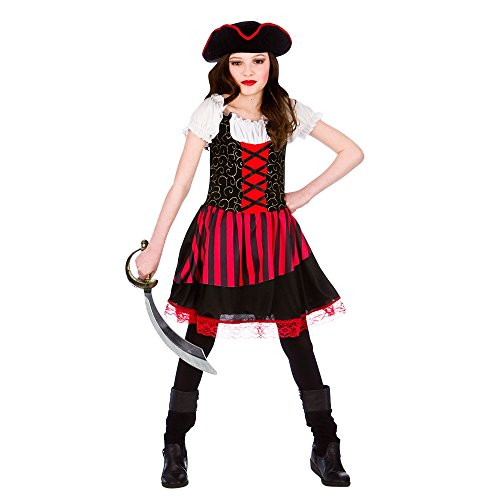 Pretty Pirate Girl - Kids Costume 5 - 7 years