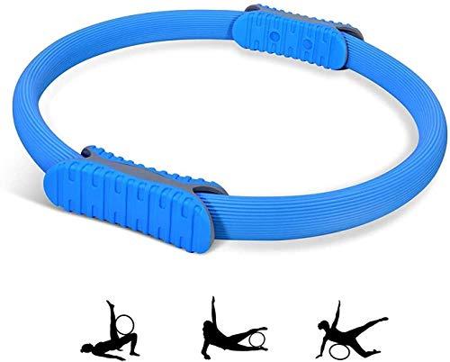 HSWYJJPFB Gadget Tecnologici Aros Fitness Hula Hoop Pilates Ring Magic Yoga Ring para Yoga Entrenamiento físico de la Parte Superior del Cuerpo Brazos Piernas y músculos Quemar Grasa