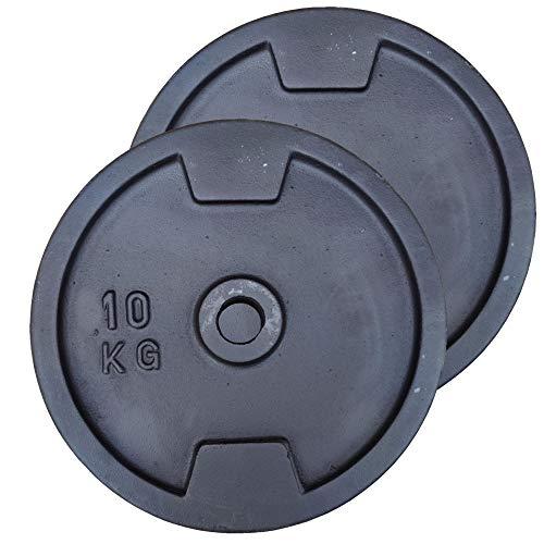 Hantelscheiben Gusseisen 30mm 5 10 15 20 kg Hantel Gewichte Scheiben Fitness, Gewicht:2x 20kg