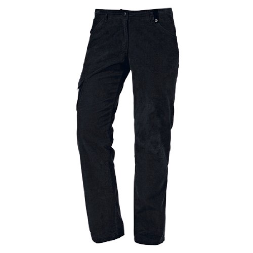 Icepeak Pantalon Long Lissi Femme, Noir, 34