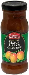 Crosse & Blackwell Genuine Major Grey's Chutney, 9-Ounce Bottles (Pack of 6)