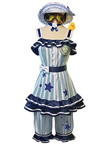 Anime Identity V Tracy Reznik cosplay para mujer y nias, juego de kimono de uniforme escolar, disfraz de Halloween Navidad Mecnico_XL