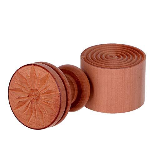Tagliapasta.com Moldes en lat/ón para raviolis Redondos o cappelletti con expulsor autom/ático Diam 34 mm C2201