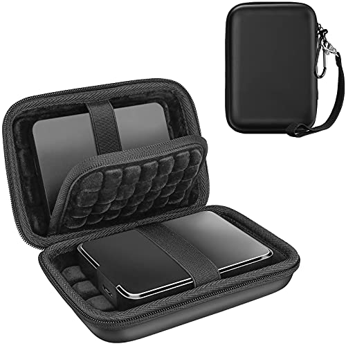 【 Holds 2 Piece】ProCase External Hard Drive Case 2.5 Inch,Compatible...