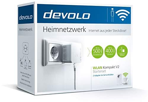 Devolo WLAN Kompakt V2 - Starterset bis zu 500Mbit/s