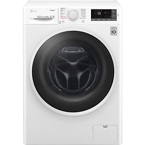 LG F4J6TY0WW Direct Drive Freestanding Washing Machine 8kg 1400rpm White
