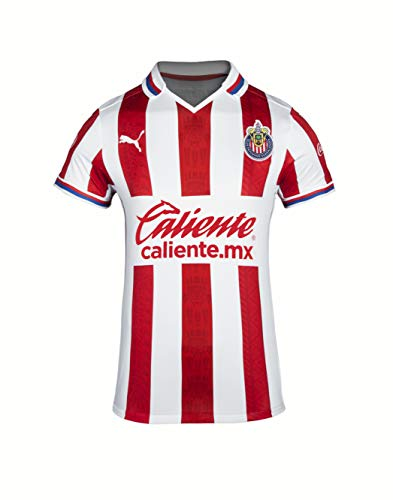 PUMA 2020-21 Chivas Women Home Jersey - Red-White XS