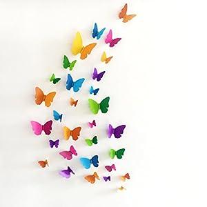 Best Butterfly Wall Stickers 3D in 2021