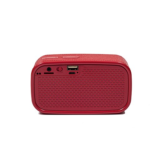 OPAKY Tragbarer drahtloser Bluetooth Stereo-FM-Lautsprecher für iPhone, Samsung usw.