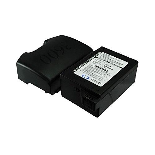 Batteria per Sony PSP-1000 / PSP-1004 (XL+Backcover) (3650mAh) PSP-110 / PSP-280