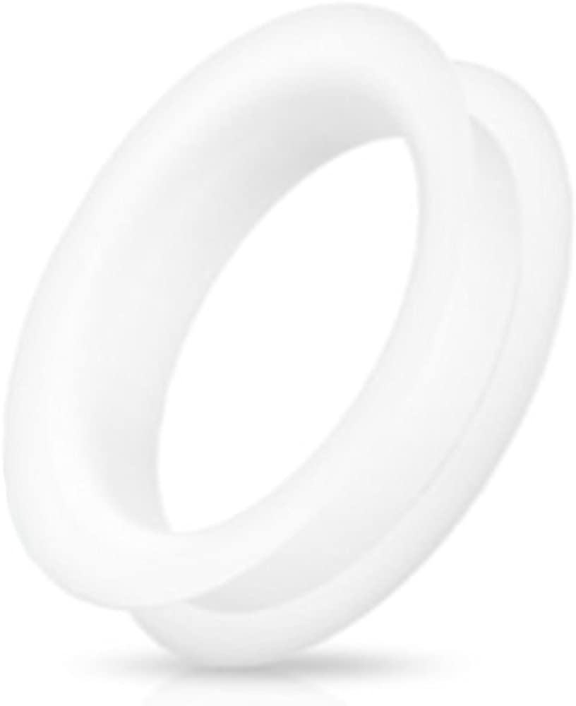 Dynamique Pair of Double Flat Soft Tunnel Popular standard Flared Ultra Silicone Limited time sale