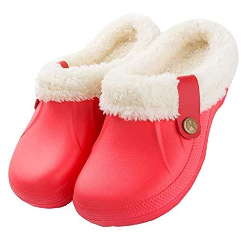 Gibobby Slippers for Women Booties Women's Nordic Slipper with Memory Foam
