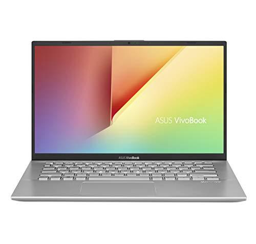 ASUS Vivobook 14 A412, Notebook con Monitor 14' HD, Anti-Glare, Intel Core i3-8145U, RAM 8GB, HDD 256GB SSD PCIE, Windows 10 HOME S