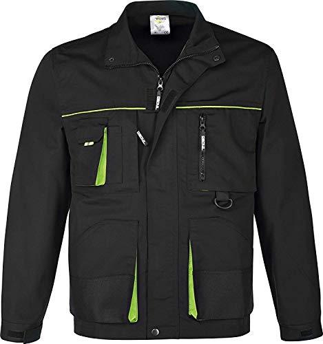 Arbeitsjacke schwarz/grün (L)