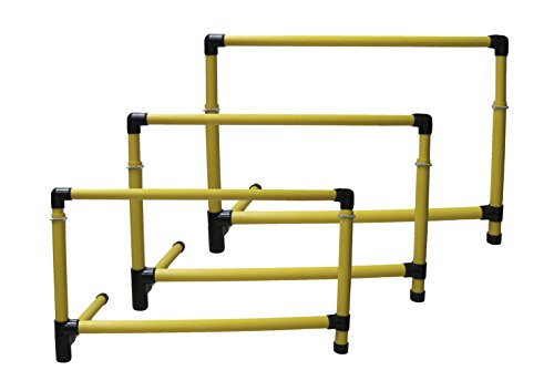 Sportime Adjust-A-Hurdles, 21 to 36 Inches, Set of 3 - 1410396
