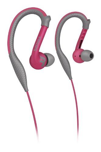 Philips SHQ3200PK/28 ActionFit Sport-Kopfhörer mit Ohrbügel