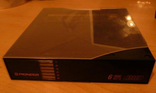 Pioneer PRW1141 PRW 1141 6 CD Cartridge Magazine for CD Changer