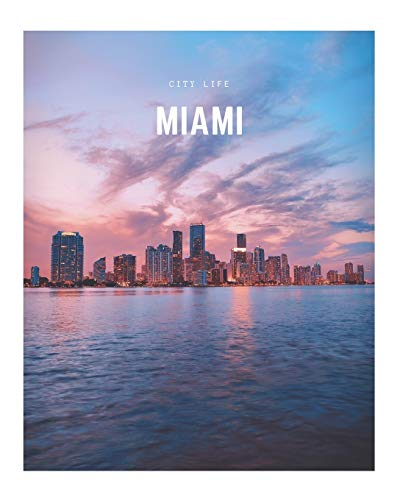 Miami: A Decorative Book │ Perfect for Stacking on Coffee Tables & Bookshelves │ Customized Interior Design & Home Decor (City Life Book Series)