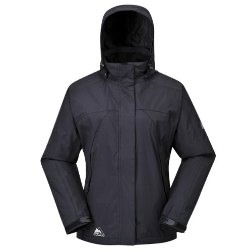 Cox Swain Damen 2-Lagen Outdoor Multifunktionsjacke Makalu div. Farben 3.000 mm Wassersäule, Colour: Black, Size: M