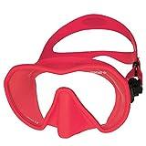 Beuchat MAXLUX S Einglas Tauchmaske Taucherbrille (pink rapsberry)