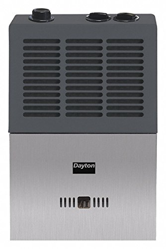 Dayton 6-3/8' x 13-3/8' x 21-1/4' Convection Vent Free Portable Gas Heater with 150 sq. ft. Heating Area