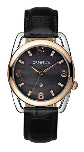 Orphelia Reloj analógico para Mujer de Cuarzo con Correa en Piel OR53172344
