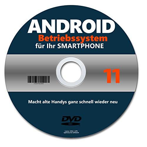BETRIEBSSYSTEM ANDROID 11 auf DEUTSCH auf DVD NEU © AKTUELL SMARTPHONE