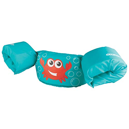 Stearns Original Puddle Jumper Kids Life Jacket | Life Vest for Children, Cancun Crab