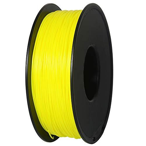 Filamento PETG, Filamento per stampante 3D, Filamento GIANTARM PETG 1,75 mm, Precisione dimensionale +/- 0,2 mm, 1 kg, Giallo