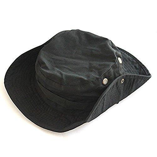 Leisial- Sombrero de pescador unisex, Estilo 7, Black
