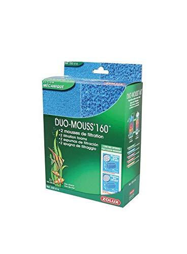 Zolux Duo Mousse Filtre pour Aquarium 160 cm