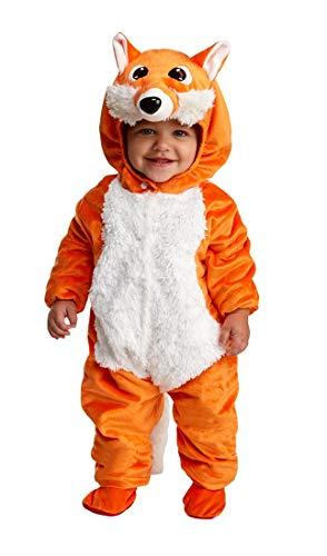 Frisky Fox Infant Toddler Costume Toddler 1T-2T Orange
