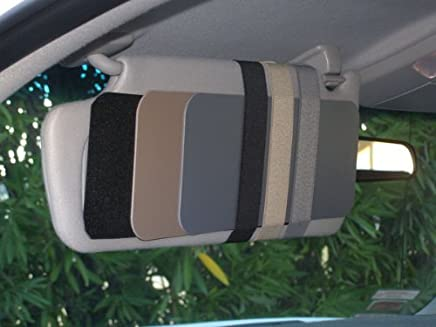 4 Elastic Straps for Your Sun Visors to hold Handicap Placard or Garage  Door openers - 28d7b6c31f5