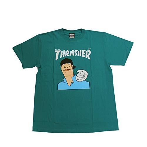 スラッシャー tシャツ スラッシャー Tシャツ THRASHER MAY1994 GONZ COVER S/S T-SHIRTS プリントTEE メン...